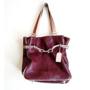 Rare Coach #7532 Duo Tote Bag